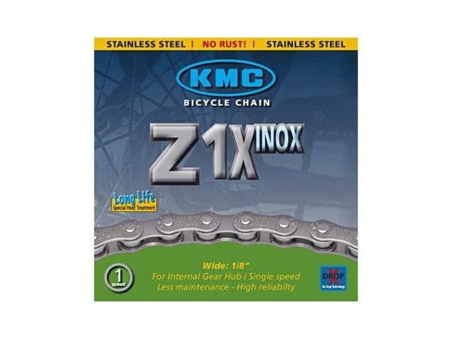 KMC Z1-X Inox fietsketting singlespeed zilver